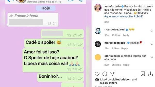 ana-furtado-mostra-conversa-com-boninho-sobre-spoilers-do-bbb21