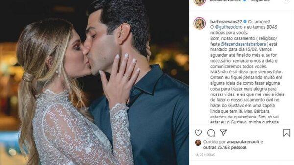 barbara-evans-anuncia-que-tera-casamento-civil-transmitido-em-live