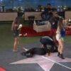 bbb21:-pocah-desmaia-durante-festa-do-lider-e-recebe-ajuda-dos-participantes