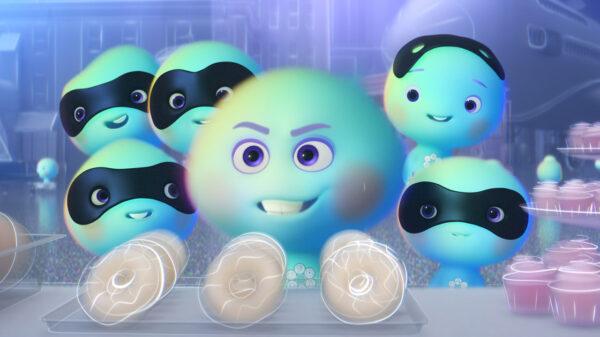 Alma 22, do filme Soul, protagoniza o curta '22 Contra a Terra', nova produção da Disney e da Pixar - Crédito: Divulgação