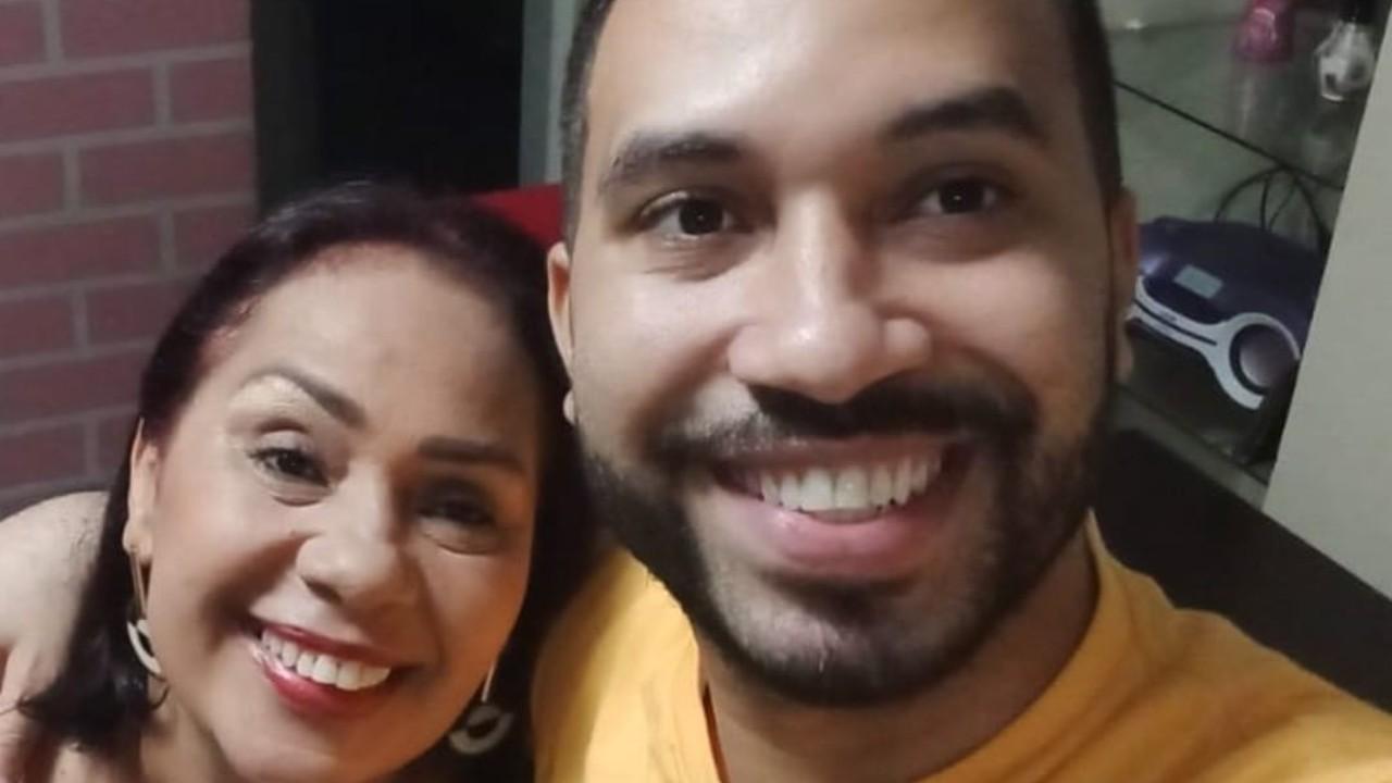 Dona Jacira Santana e Gilberto