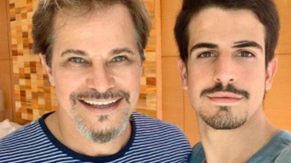 Edson Celulari celebra aniversário do filho, Enzo Celulari