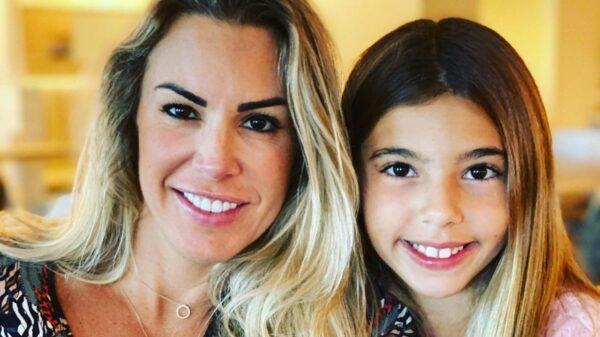 Joana Prado sofre acidente com a filha nos EUA