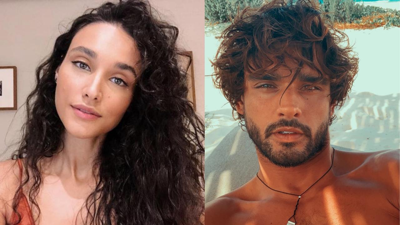 Débora Nascimento posta a primeira foto de Marlon Teixeira em seu perfil pessoal. Foto: Reprodução/Instagram