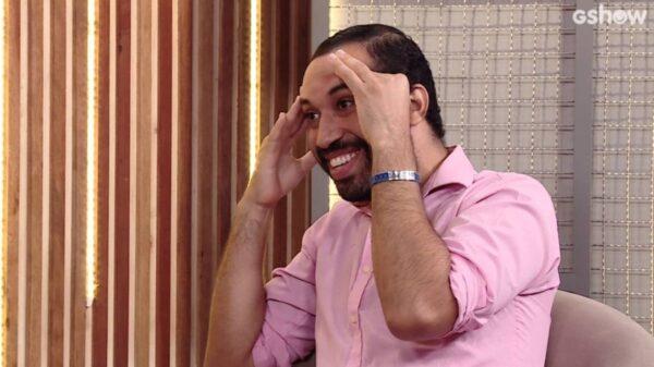 Gilberto conversa com Ana Clara — Reprodução: Gshow