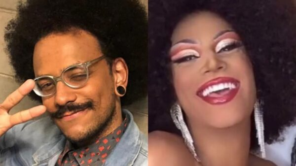 João Luiz se transforma em drag queen