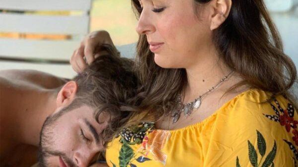 Rafael Vitti e Tatá Werneck grávida com a filha, Clara Maria - Crédito: Reprodução/ Instagram