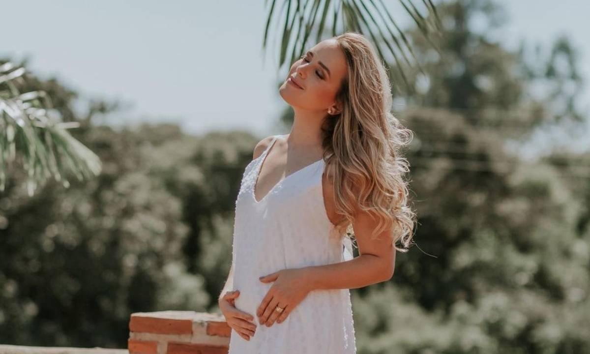 Thaeme Mariôto espera sua segunda filha, Ivy - Crédito: Reprodução/ Instagram