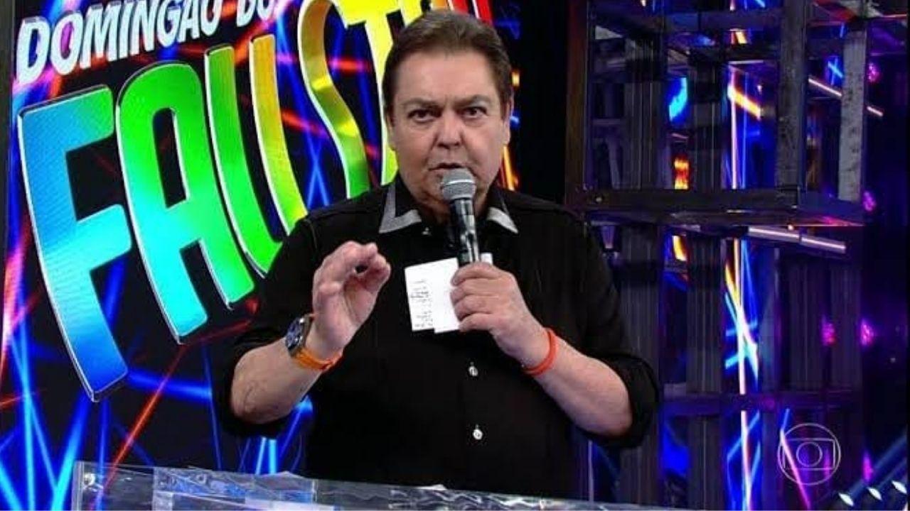 Fausto Silva é internado. Foto: Reprodução/TV Globo