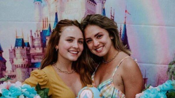 Larissa Manoela e Bianca Palheiras (Foto: Reprodução/Instagram)
