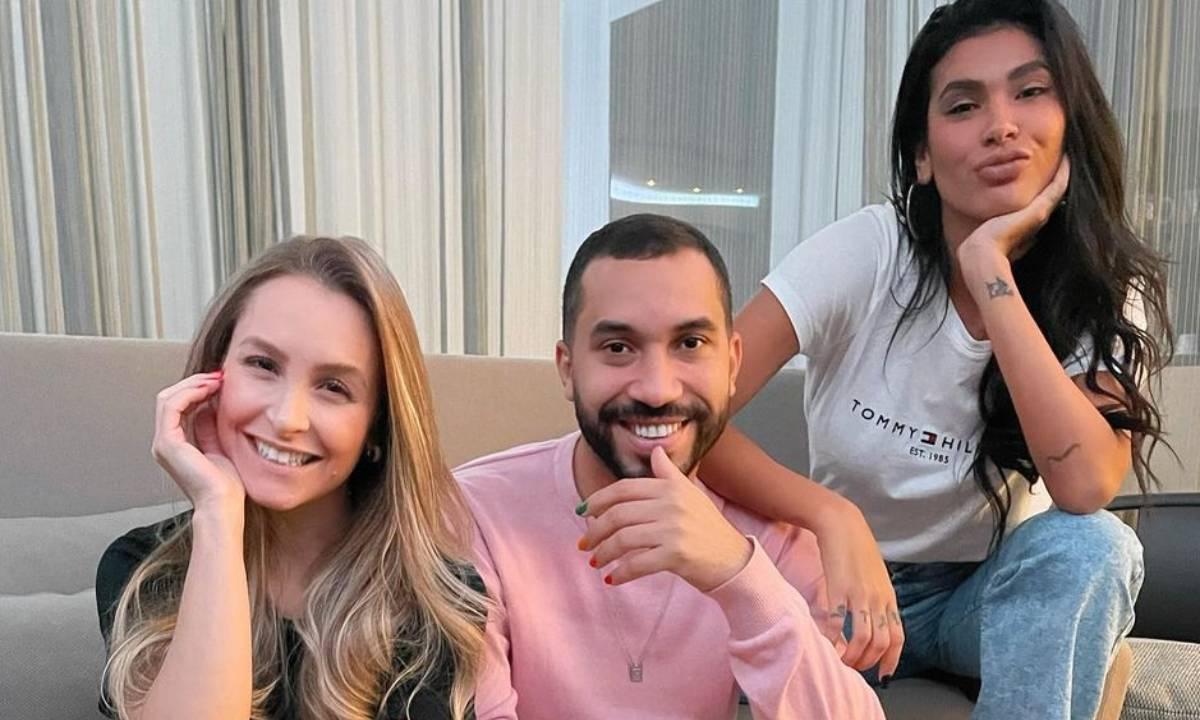 Carla Diaz, Gilberto e Pocah - Crédito: Reprodução/ Instagram