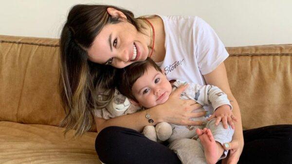 Sthefany Brito celebra mêsversário do filho. Foto: Reprodução/Instagram