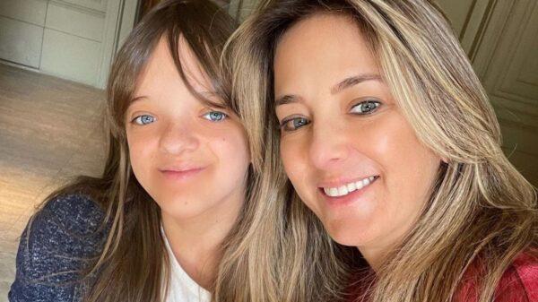 Ticiane Pinheiro encantou a web ao fazer homenagem de aniversário para a filha. Foto: Reprodução/Instagram