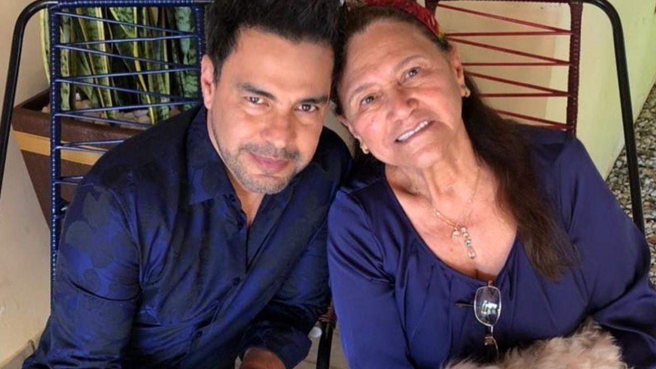Zezé Di Camargo faz declaração emocionante para Dona Helena. Foto: Reprodução/Instagram