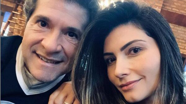 Daniel e a esposa, Aline de Pádua - Crédito: Reprodução / Instagram