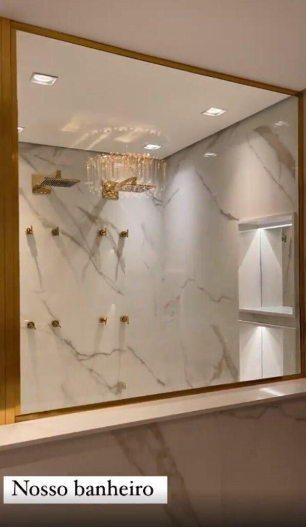 Graciele Lacerda mostra a reta final da decoração do novo apartamento - Crédito: Reprodução / Instagram