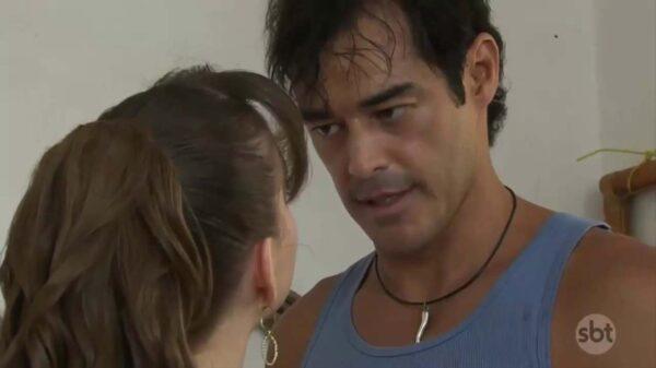Esther e José Antonio na novela Coração Indomável - Crédito: Reprodução