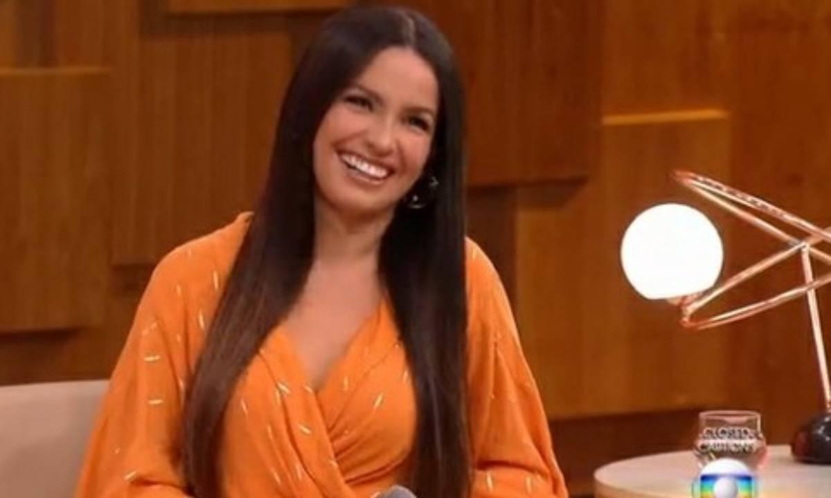 Juliette participa do Encontro (Foto: TV Globo)