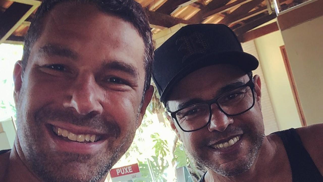 Marcuz Buaiz e Zezé di Camargo - reprodução - instagram
