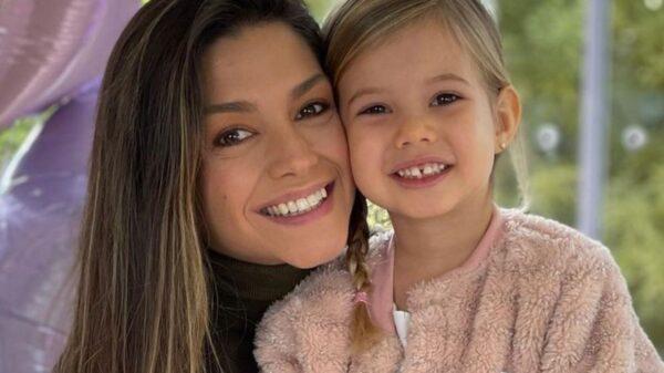 Thais Fersoza celebra aniversário da filha, Melinda. Foto: Reprodução/Instagram