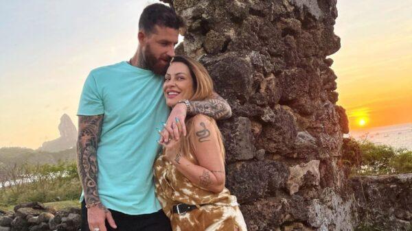 Cleo e o marido, Leandro D'Lucca