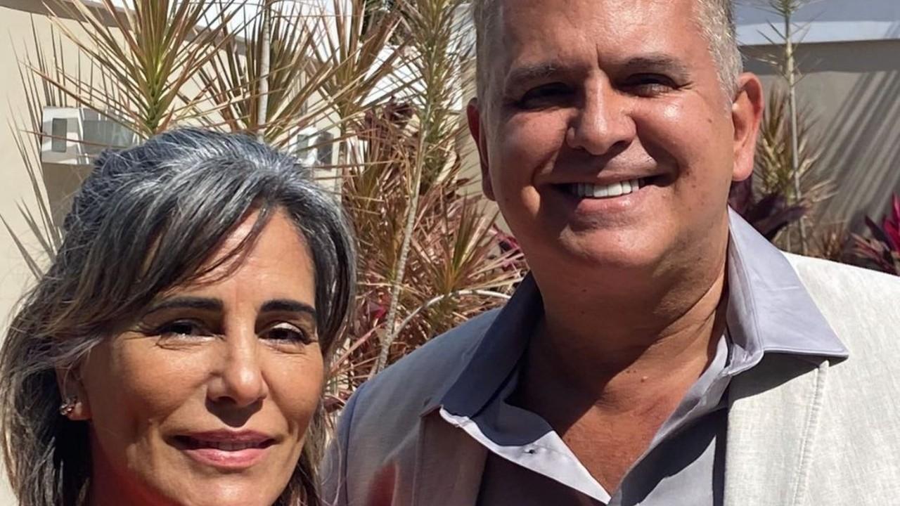 Glória Pires e Orlando Morais
