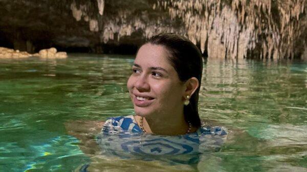Marilia Mendonça curte viagem no México