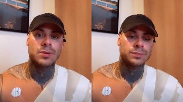 Leo Stronda sofre acidente doméstico após explosão do botijão de gás