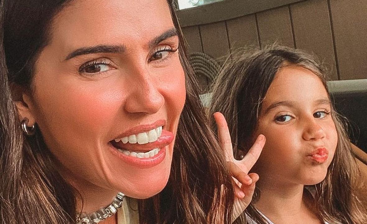 Deborah Secco e Maria Flor - reprodução - instagram
