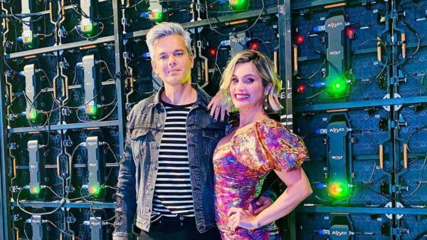 Otaviano Costa e FLávia Alessandra - reprodução - instagram