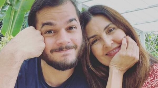 Túlio Gadêlha e Fátima Bernardes. Foto: Reprodução/Instagram