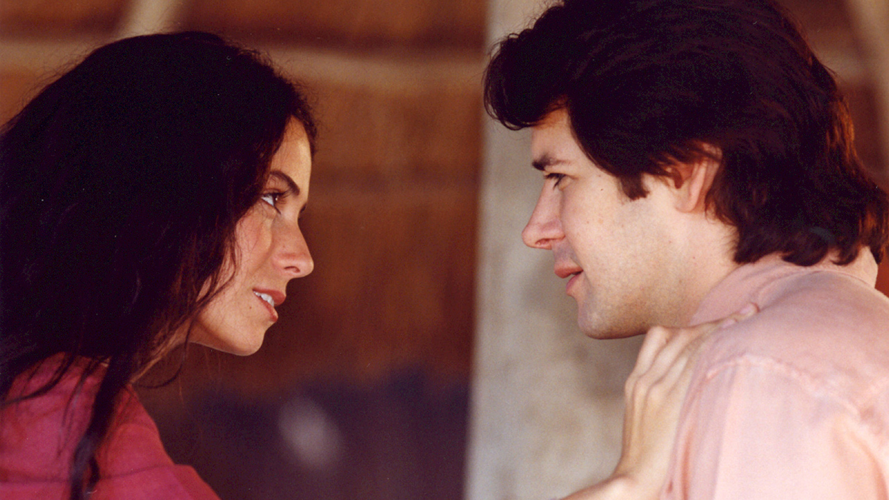 Jade (Giovanna Antonelli) e Lucas (Murilo Benicio) na novela O Clone - Crédito: Globo / Divulgação