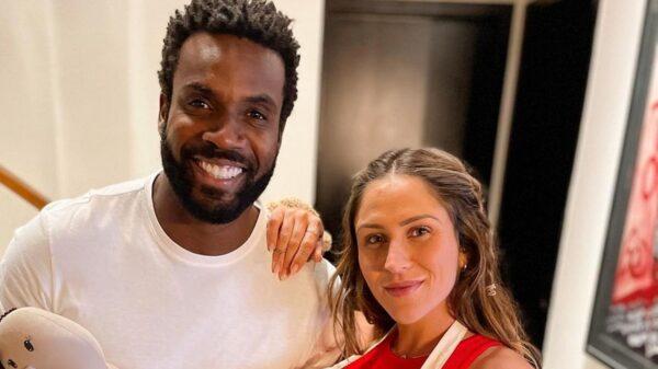 Rafael Zulu e Aline Becker anunciam nascimento do filho, Kalu